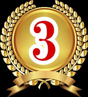 3位バッジ