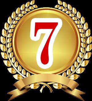 7位バッジ