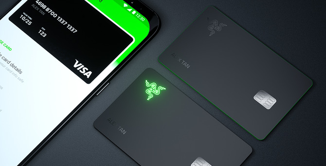 Razer Cardの券面